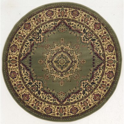 Northington Green Area Rug Rug Size: Round 53