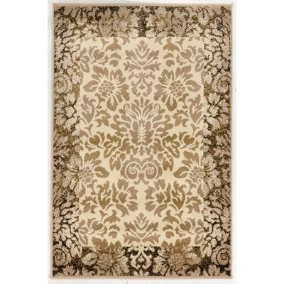 Gabrielson Ivory Area Rug Rug Size: Rectangle 33 x 411