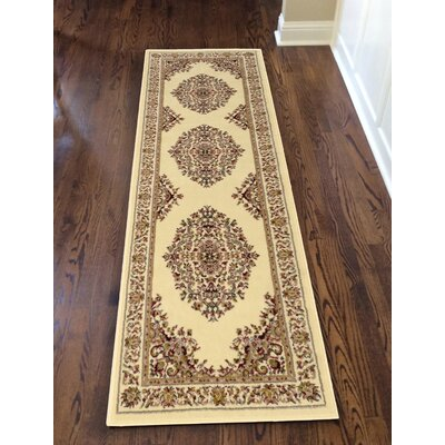 Northgate Medallion Ivory Area Rug