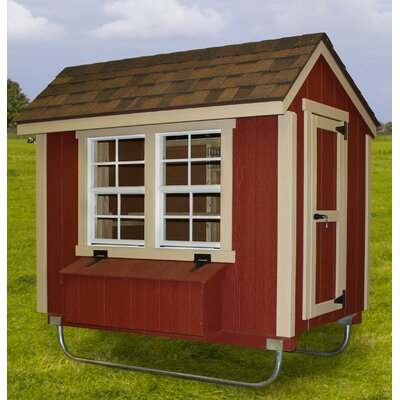 4x6 EZ Fit Chicken Coop