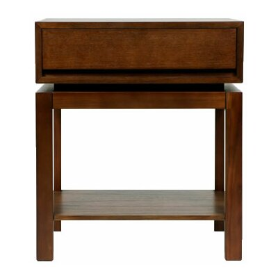 Nusa 1 Drawer Bachelors Chest Finish: Brown