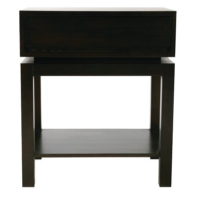 Nusa 1 Drawer Bachelors Chest Color: Espresso
