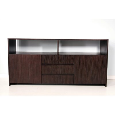 Garis Open Sideboard Color: Espresso