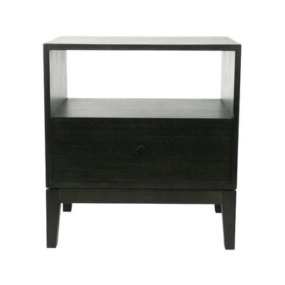 Kuta 1 Drawer Nightstand Finish: Espresso