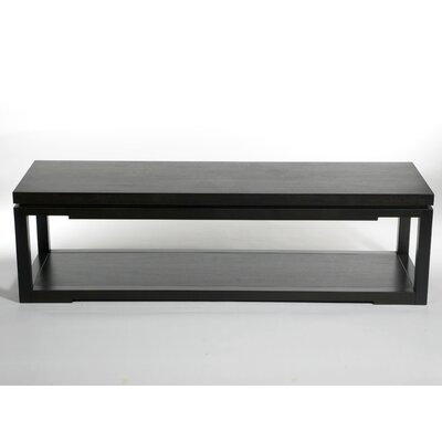 Nam Allw Coffee Table with Tray Top Top Color: Espresso