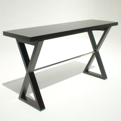 X-Base Console Table Finish: Espresso