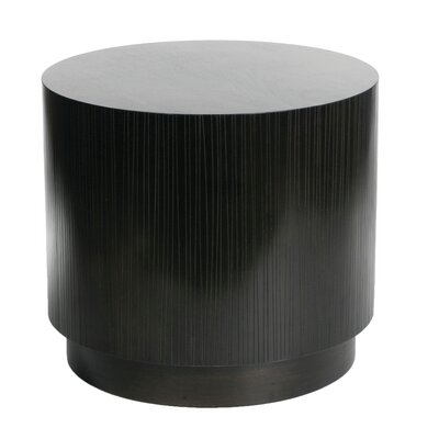 Garis Cylinder End Table