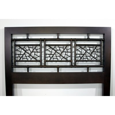 Web Design Open-Frame Headboard Size: King