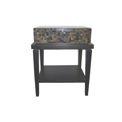 Fiji 1 Drawer Nightstand Color: Espresso
