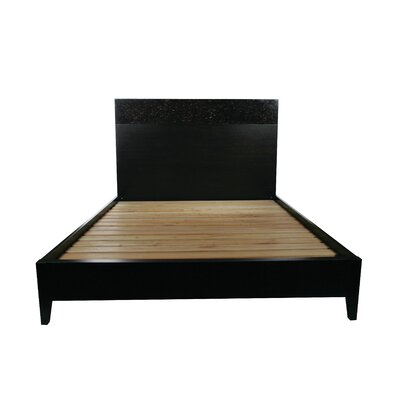 Kuta Platform Bed with Mattress Size: King