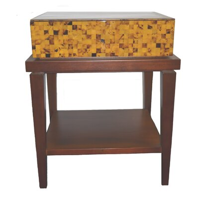 Fiji 1 Drawer Nightstand Color: Brown