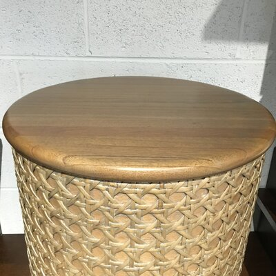Net Cylinder End Table