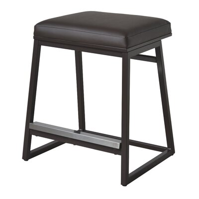 Widya 25 Bar Stool Upholstery: Brown