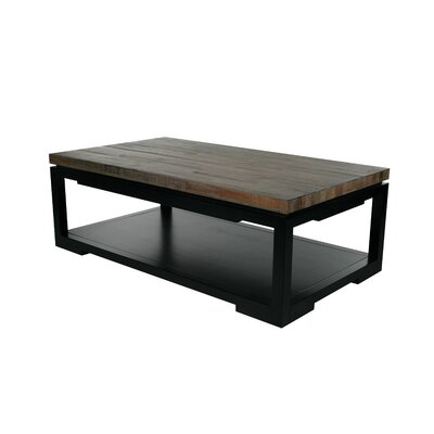 Nam Allw Coffee Table with Tray Top Top Color: Gray