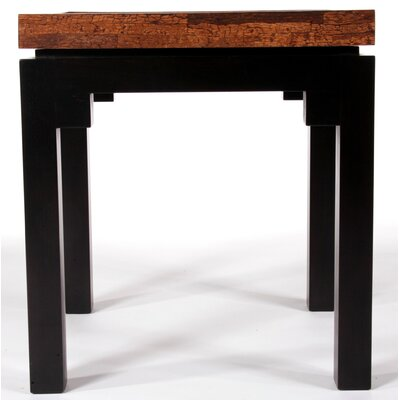 Kan Penshell Square End Table Top Finish: Cinnamon