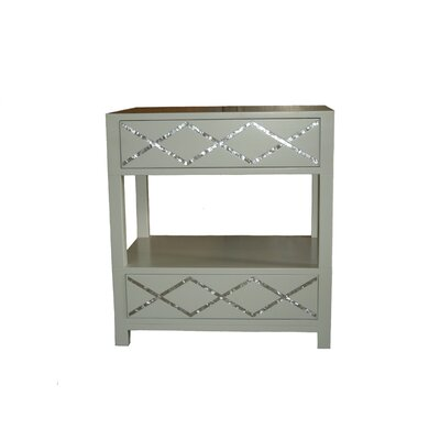 Atma 2 Drawer Nightstand