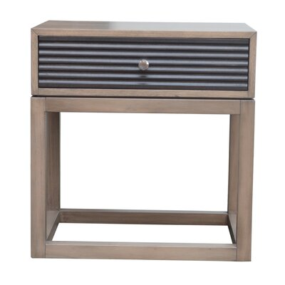 Lani 1 Drawer Nightstand Color: Sand