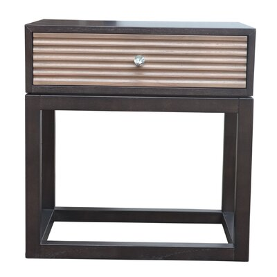 Lani 1 Drawer Nightstand Finish: Lava