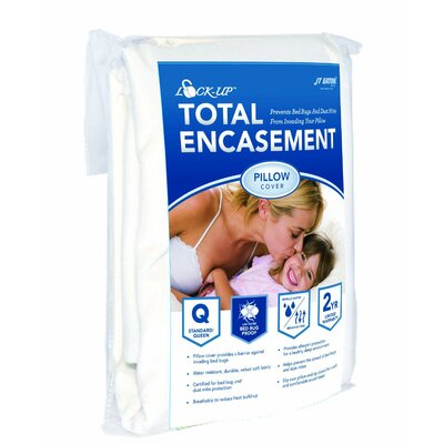 Lock-Up Total Encasement Bed Bug Pillow Protector