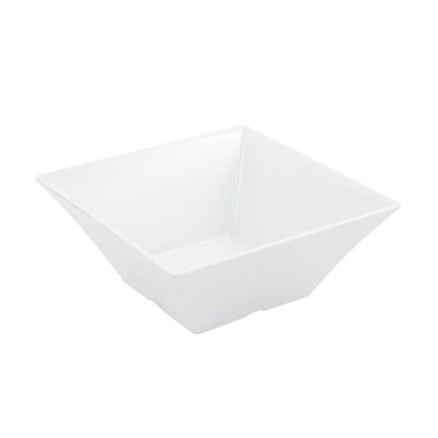 Bon Chef 96 oz. Square Serving Bowl 53501WHITE