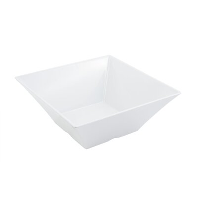 Bon Chef 188 oz. Square Serving Bowl 53502WHITE