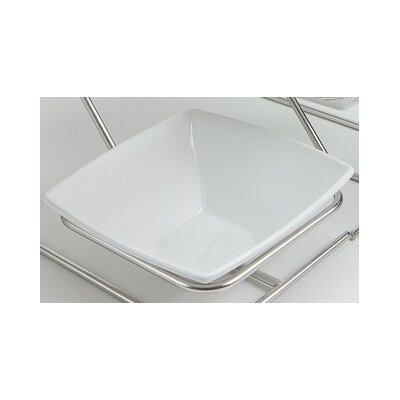 Bon Chef 12 oz. Small Square Bowl 53503BLACK
