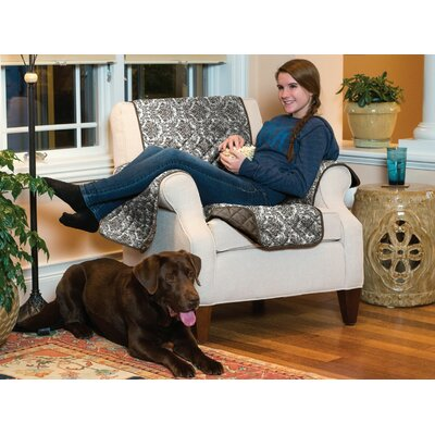 Luxe Home Reversible Sofa Furniture Protector Upholstery: Brown, Cover Type: Chair