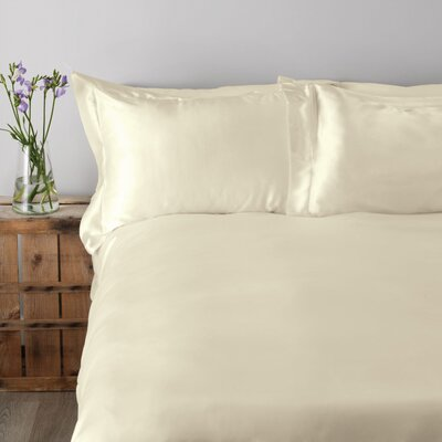 Mandalay 300 Thread Count Sheet Set Size: Queen, Color: Ivory