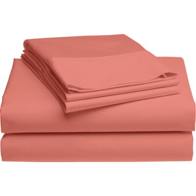 Holloway 6 Piece 400 Thread Count 100% Cotton Sheet Set Color: Canyon Sunset
