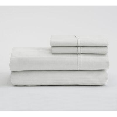 Fallcrest  400 Thread Count 100% Cotton Sheet Set Size: Full, Color: White