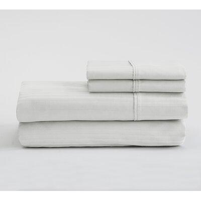 Fallcrest  400 Thread Count 100% Cotton Sheet Set Color: White, Size: Queen