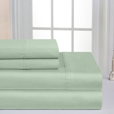 Super Soft Double Brushed Sheet Set Color: Dewkist, Size: King