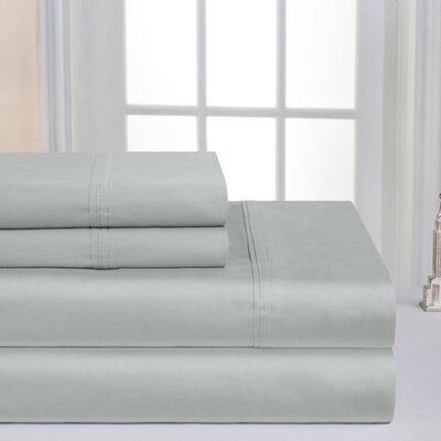 Super Soft Double Brushed Sheet Set Color: Gray Violet, Size: King