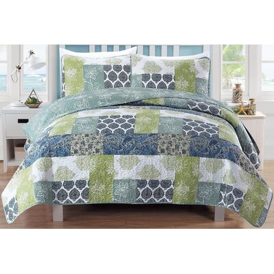 Zahira Quilt Set Size: King