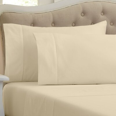 Lockwood 500 Thread Count 100% Egyptian Quality Cotton Sheet Set Color: Wheat, Size: King