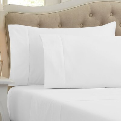 Lockwood 500 Thread Count 100% Egyptian Quality Cotton Sheet Set Color: White, Size: King
