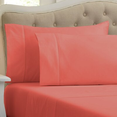 Lockwood 500 Thread Count 100% Egyptian Quality Cotton Sheet Set Color: Sunset Canyon, Size: Queen