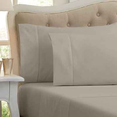Quinn 1000 Thread Count Sheet Set Color: Silver Gray, Size: King