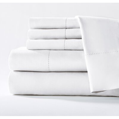 400 Thread Count Cotton Sateen Sheet Set Size: Queen