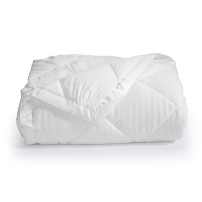 Landsdale Luxury Down Alternative Blanket Color: White, Size: Full / Queen