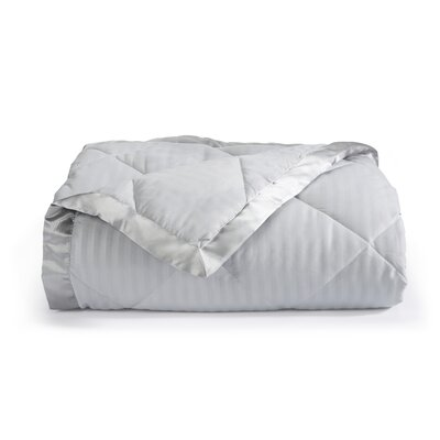 Landsdale Luxury Down Alternative Blanket Size: King, Color: High Rise Grey