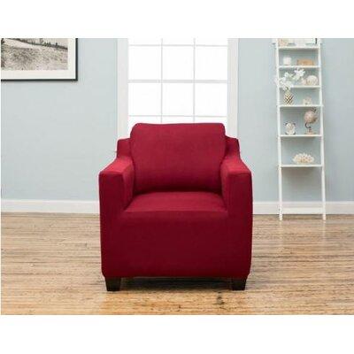 Dawson Sofa Slipcover Upholstery: Garnet