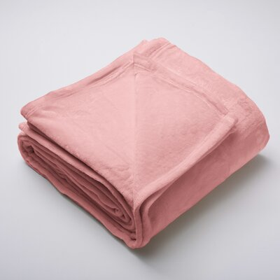 Marlo Ultra Velvet Plush Super Soft Fleece Blanket Size: Full / Queen, Color: Desert Sand