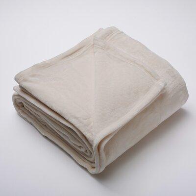 Marlo Ultra Velvet Plush Super Soft Fleece Blanket Color: Gray Morn, Size: King