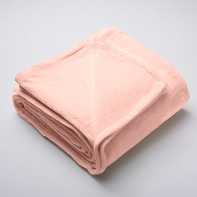 Silana Ultra Velvet Plush Super Soft Fleece Blanket Color: Muted Clay, Size: Full / Queen