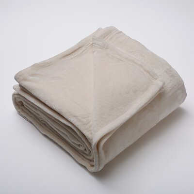 Silana Ultra Velvet Plush Super Soft Fleece Blanket Size: Twin, Color: Taupe