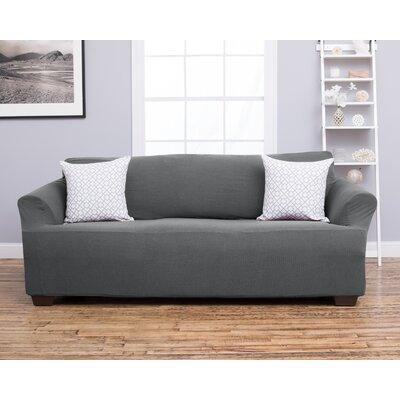 Amilio Sofa Slipcover Upholstery: Gray