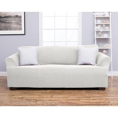 Amilio Sofa Slipcover Upholstery: Ivory