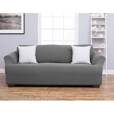 Cambria Sofa Slipcover Upholstery: Gray