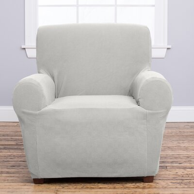 Cambria Armchair Slipcover Upholstery: Ivory
